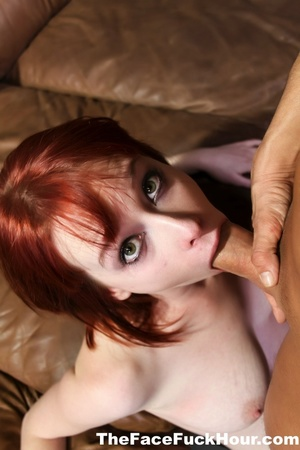 Lusty redhead with juicy tits and smokin - XXX Dessert - Picture 4