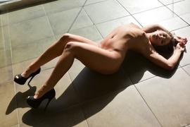 black, interracial, posing, stripping