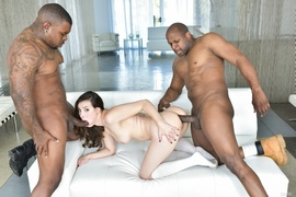 anal, interracial, pussy, slave