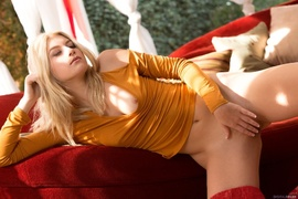 blonde, erotica, pussy