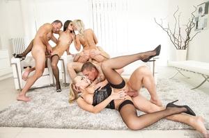 Hot blonde and brunette bitches sucks co - XXX Dessert - Picture 9