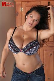 hot big-titted brunette seduces