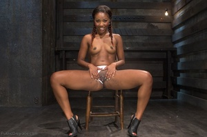 Young black chick with braids in her hai - XXX Dessert - Picture 3