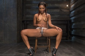 Young black chick with braids in her hai - XXX Dessert - Picture 4