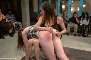 Dirty daddy's girl is put into a collar  - XXX Dessert - Picture 6
