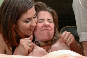 Dirty daddy's girl is put into a collar  - XXX Dessert - Picture 14