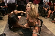 stunning submissive does what