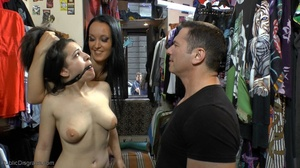 Teen slut is taken to a clothing store,  - XXX Dessert - Picture 10