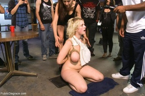 Curvy blonde chick with big tits is fuck - XXX Dessert - Picture 13