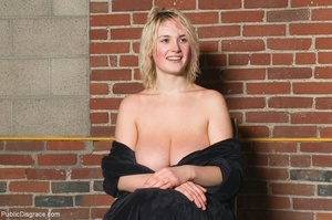Curvy blonde chick with big tits is fuck - XXX Dessert - Picture 18