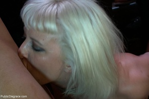 A fair-skinned blonde and dirty ebony sl - XXX Dessert - Picture 6