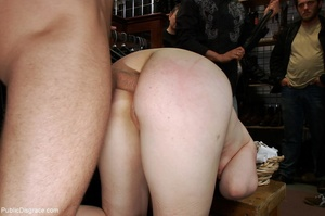 Being made to piss in front of everyone  - XXX Dessert - Picture 8