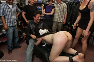Being made to piss in front of everyone  - XXX Dessert - Picture 15