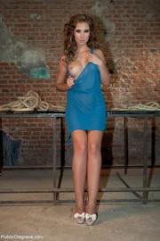 hottie blue dress led
