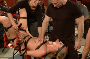 At a wild sex party, a gal is bound and  - XXX Dessert - Picture 9