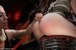 Blue-haired whore is choked, fucked and  - XXX Dessert - Picture 4