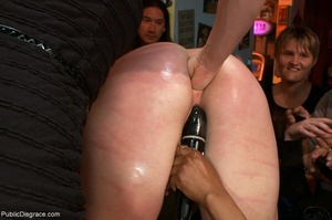 Blue-haired whore is choked, fucked and  - XXX Dessert - Picture 11