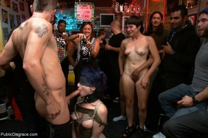 Blue-haired whore is choked, fucked and  - XXX Dessert - Picture 14