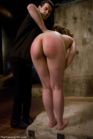 Young woman's ass and legs turn pink fro - XXX Dessert - Picture 8