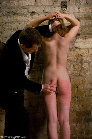 Young woman's ass and legs turn pink fro - XXX Dessert - Picture 11