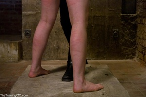 Young woman's ass and legs turn pink fro - XXX Dessert - Picture 17