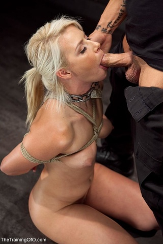 suspended blonde screwed roughness