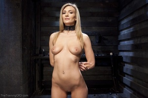 Flawless blonde has a completely kinky s - XXX Dessert - Picture 1
