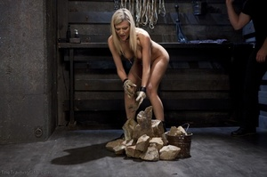 Flawless blonde has a completely kinky s - XXX Dessert - Picture 4