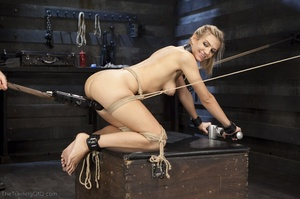 Flawless blonde has a completely kinky s - XXX Dessert - Picture 12