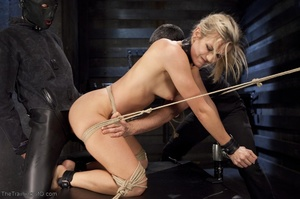 Flawless blonde has a completely kinky s - XXX Dessert - Picture 16