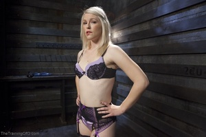 Sexy harlot in hot lingerie is totally i - XXX Dessert - Picture 1