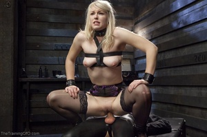 Sexy harlot in hot lingerie is totally i - XXX Dessert - Picture 13