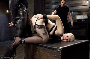 Sexy harlot in hot lingerie is totally i - XXX Dessert - Picture 17