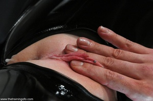 Dirty holes are exposed when a slutty sl - XXX Dessert - Picture 11