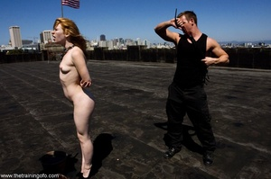 Face fucking and public nudity are part  - XXX Dessert - Picture 7