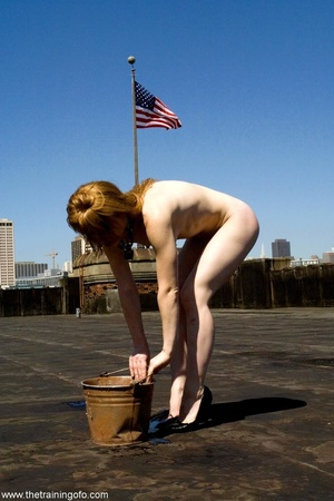 Face fucking and public nudity are part  - XXX Dessert - Picture 8