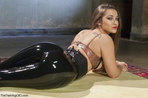 Long-haired submissive is served the cre - XXX Dessert - Picture 2