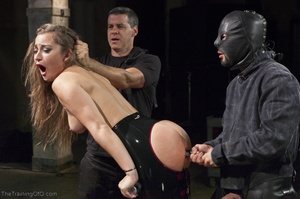 Long-haired submissive is served the cre - XXX Dessert - Picture 12