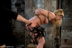 Slave girl collects cum in her hands aft - XXX Dessert - Picture 13
