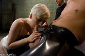 Good girl services two shafts as she str - XXX Dessert - Picture 14