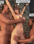 Brunette with big knockers gets tied up and stimulated. Female General
