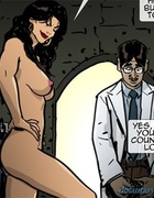 Nerdy doctor is ready to free a brunette slave. Harem Horror Hell 5: Irresistible