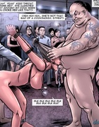 For a start this blonde whore gets rammed by two kinky gentlemen. A Tale