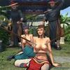 Busty warrior ladies get tortured by some cruel soldiers. Female General