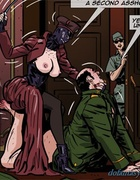Kinky mistress dominates over this fat colonel with so much joy. Prison