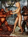 Horny red monsters fucking a sweet - Picture 3