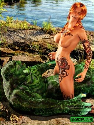 green monster ready bang