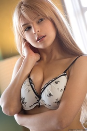 luscious blonde with tiny