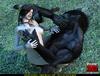 Brunette warrior woman gets rammed by a werewolf