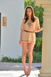 smiling teen model wants